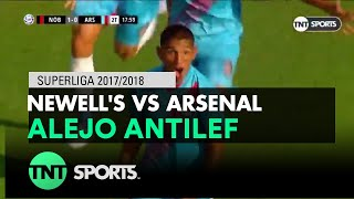 Alejo Antilef (1-1) Newell's vs Arsenal | Fecha 13 - Superliga Argentina 2017/2018