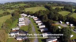 Dingle Caravan Park, Narberth, Pembrokeshire.