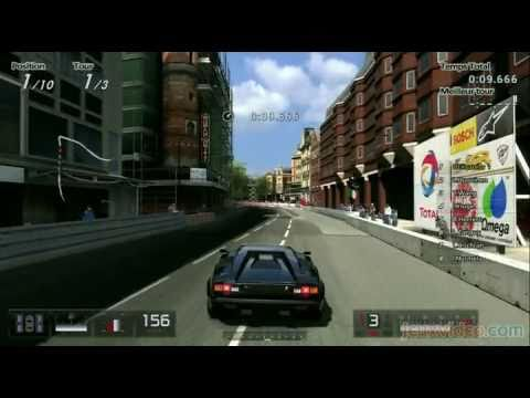 gran turismo 5 london lamborghini countach 25th anniversary 39 88 youtube. Black Bedroom Furniture Sets. Home Design Ideas