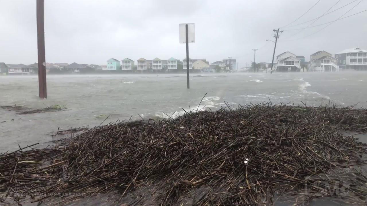 9,5,19 North Myrtle Beach / Garden City, SC , Dorians Worst Wrath of Winds  , Afternoon