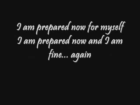 Seether-Fine Again Lyrics