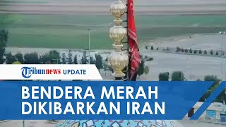 Bendera Merah Dikibarkan di Masjid Jamkara Iran, Isyarat Perang Pembalasan Kematian Qassem Soleiman