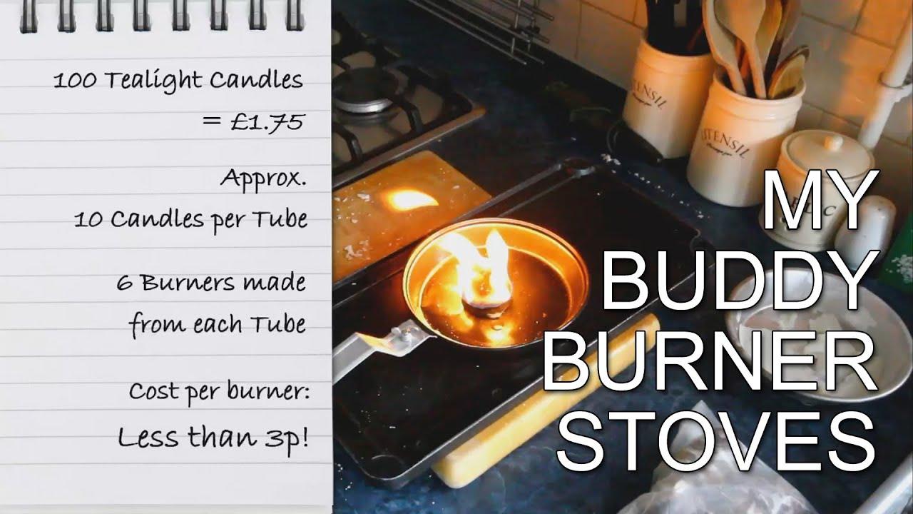 how i make wax buddy burner stoves youtube