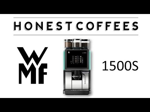 WMF 1500S Coffee Machine Overview & Setup Requirements