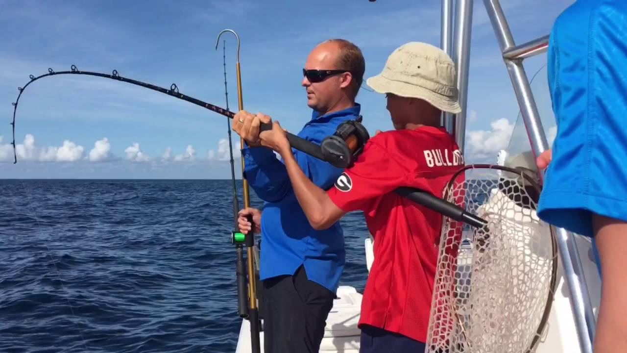 St augustine deep sea fishing youtube for Fishing st augustine