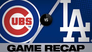 Beaty, Hill lead Dodgers past Cubs, 5-3 | Cubs-Dodgers Game Highlights 6/14/19