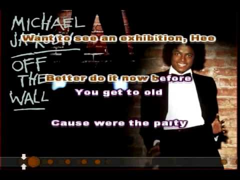 Off The Wall (Michael Jackson) Karaoke