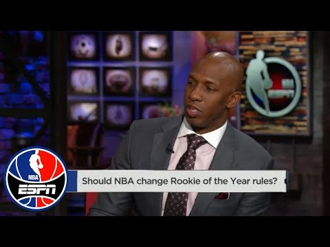 Chauncey Billups: Donovan Mitchell will be 'cheated' if Ben Simmons wins ROY | NBA Countdown | ESPN