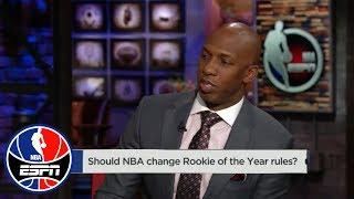 Chauncey Billups: Donovan Mitchell will be 'cheated' if Ben Simmons wins ROY | NBA Countdown | ESPN