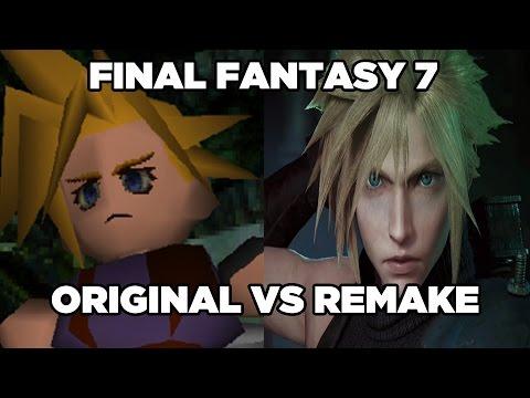 Final Fantasy VII - Original vs. Remake