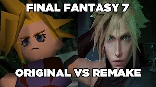 Final Fantasy VII - Original vs. Remake