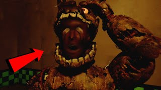 SPRINGTRAP ABRE SU CABEZA PARA DEVORAR AL GUARDIA!!  | FNAF Help Wanted Playable Animatronics