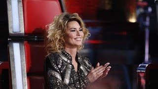 Shania Twain on The Voice announces her First Album in 15 Years