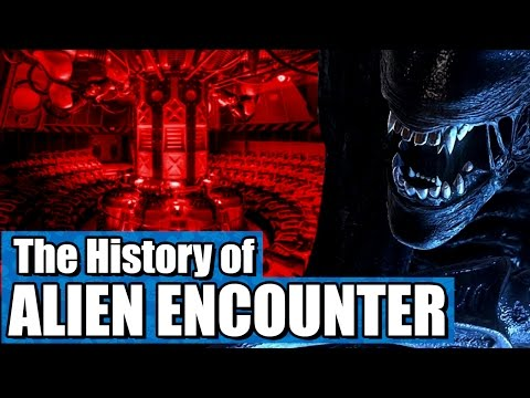 The History of ExtraTERRORestrial Alien Encounter!