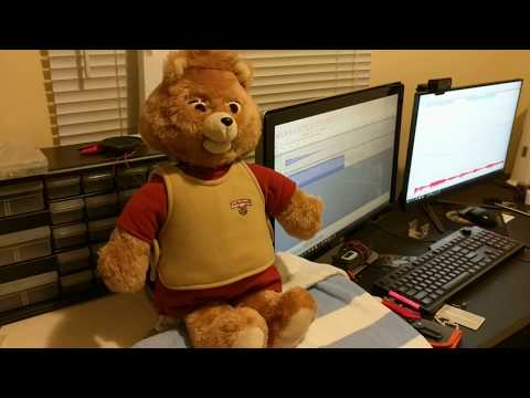 Teddy Ruxpin with moving head and body