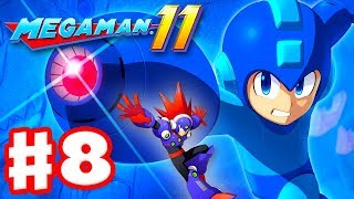 Mega Man 11 - Gameplay Walkthrough Part 8 - Blast Man Stage! (PC)