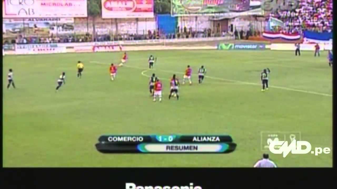 Deportivo Union Comercio 1-0 Alianza Lima