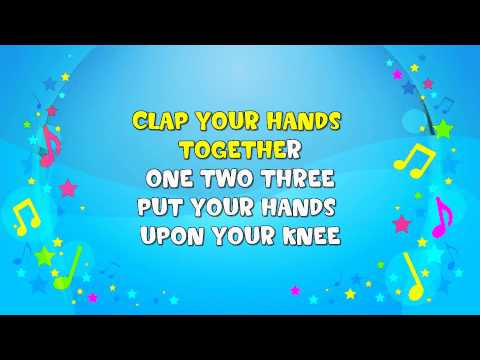 Wind the Bobbin Up | Sing A Long | Action Song  | Nursery Rhyme | KiddieOK