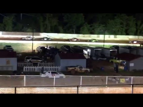 "Carl ""MailMan"" Maree #2 Renegade Car - May 7,2016 - East Lincoln Speedway - Main Race, 3rd Place"