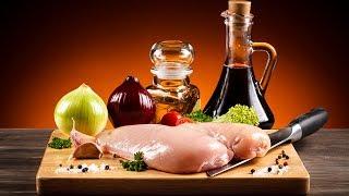 Курица В грибном соусе со сливками.  Что подать К Празднику на горячее.?