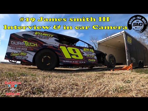 #19 James smith III Interview & in car Camera - Springfield Raceway 3-7-2020🏎