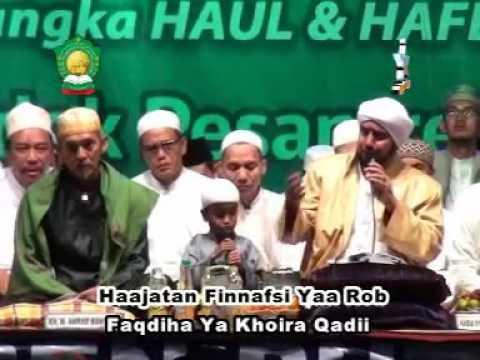 Allahu Allah Qodkafani - Duet Merdu Habib Syech ft Amir Kecil (Lirboyo Bersholawat)