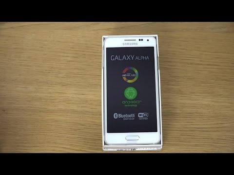 Samsung Galaxy Alpha - Unboxing (4K)