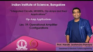 lec19 - Operational Amplifier Configarations