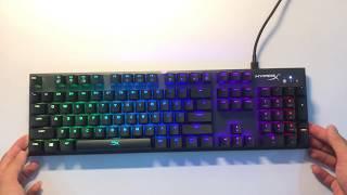 Bàn Phím cơ chuyên chơi game Kingston HyperX Alloy FPS RGB