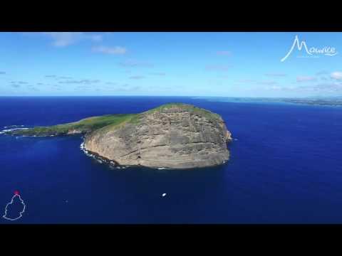 L'île Maurice vue du ciel