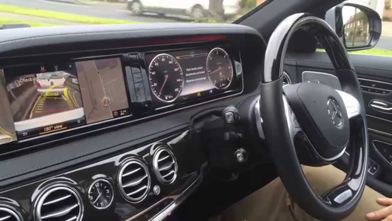 mercedes s class amg 2015 active parking assist youtube. Black Bedroom Furniture Sets. Home Design Ideas