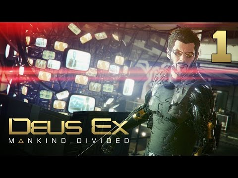 Вступление. Дубай ● Deus Ex: Mankind Divided #1 [PC] 1080p60 Max Settings