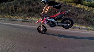 CRF 450 going crazy