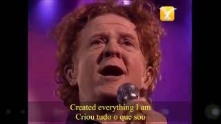 SIMPLY RED - You Make Me Feel Brand New, subtitles english and portuguese