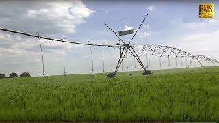 Kreisberegnungssysteme - 4 Groß-Kreisberegnungsanlagen verschiedener Bauart - Irrigation System