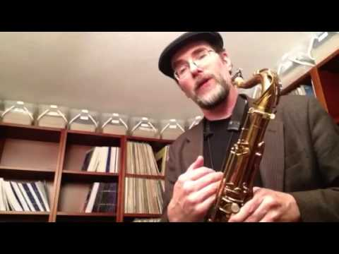Greg Fishman Jazz Lesson - Descending Chromatic Pattern