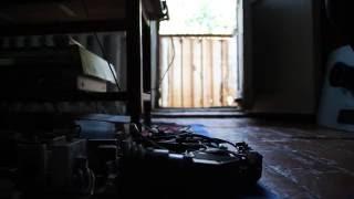 комната в общежитии(проезд на тележке долли по полу вдоль электронного оборудования., 2016-07-16T18:21:10.000Z)