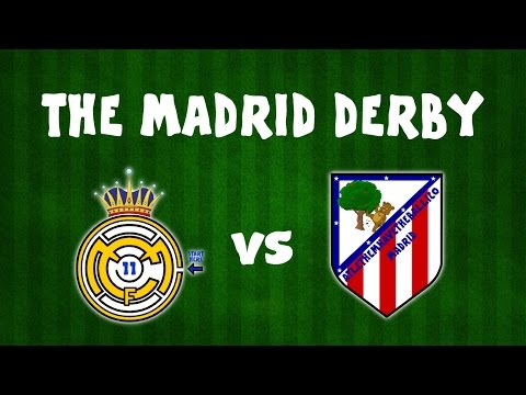 The Madrid Derby! Real Madrid vs Atletico Madrid MONTAGE! (1-1 Preview 2017)