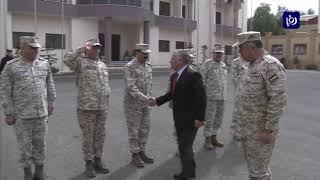 جلالة الملك يزور القيادة العامة للقوات المسلحة - (19-2-2019)