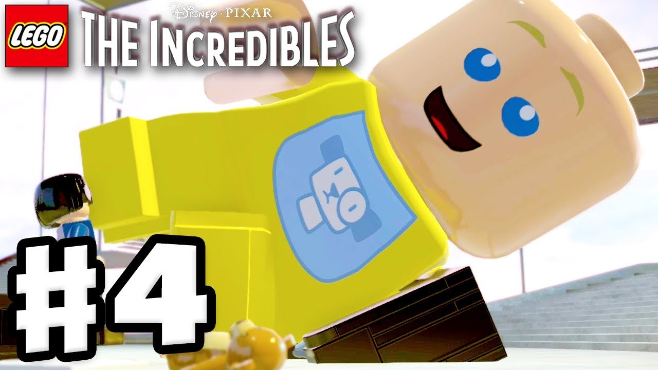 LEGO The Incredibles - Gameplay Walkthrough Part 4 - Elastigirl on the Case!