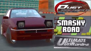 Mobile iOS - 4 Game Special Showcase - AE86 Sliding! (SmashyRoad,Ultimate Drift Online,Dust)