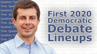 First 2020 Democratic Debate Lineups | QT Politics