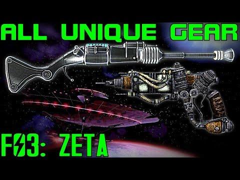 Fallout 3 Mothership Zeta  Unique Armor  Weapons Guide