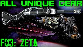 Fallout 3: Mothership Zeta - Unique Armor & Weapons Guide (DLC)