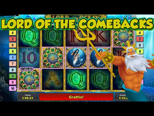 CRAZY WIN COMEBACK LORD OF THE OCEAN BIG WIN FROM LIVE STREAM