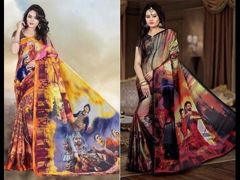 Baahubali Saree Dhoom In Surat Textile Market | Woman Crazy About Baahubali Saree