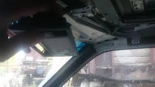 Регулювання ремонт люка w124