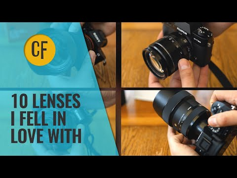 After testing 277 camera lenses...these are the 10 I really fell for