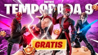 FORTNITE GIVES US THE BATTLE PASS of SEASON 9 FOR FREE!!