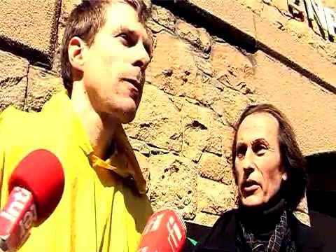 Jean Merckaert speaks on BNP Paribas during Walking Tour of Jersey's Financial District